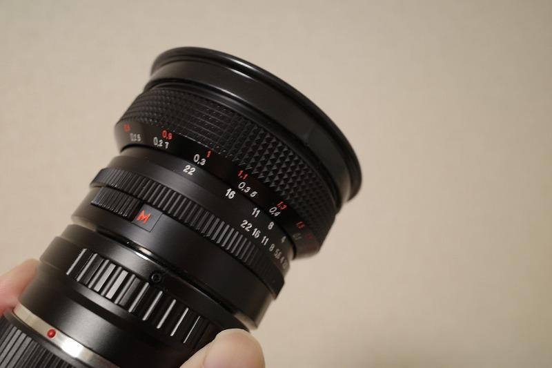 フレクトゴン20mm f2.8